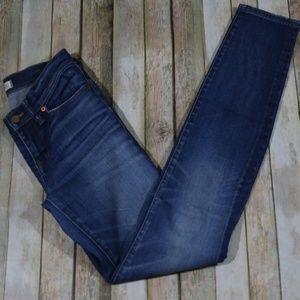 Madewell Skinny Skinny Jeans Distressed E1815